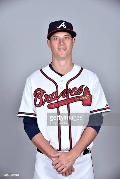 Matt Wisler of the Atlanta Braves poses during Photo Day on Tuesday February 21 2017 at Champion Stadium in Lake Buena Vista Florida