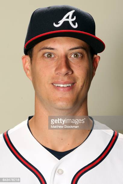 Matt Wisler poses for a portrait during Atlanta Braves Photo Day at Champion Stadium on February 21 2017 in Lake Buena Vista Florida