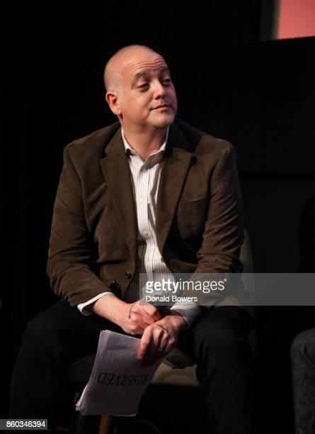 Matt Zoller Seitz attends The 'Halt And Catch Fire' Screening And Panel at IFC Center on October 11 2017 in New York City