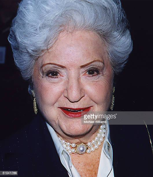 Mattel CoFounder Ruth Handler Who Created Barbie The World's Most Popular Doll Died April 27 2002 At The Age Of 85 Handler Appears Here At The 40Th...
