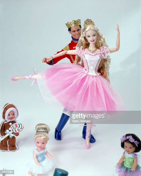 Mattel's The World of Barbie in the Nutcracker doll is on display in an undated photo The World of Barbie in the Nutcracker doll is expected to be...