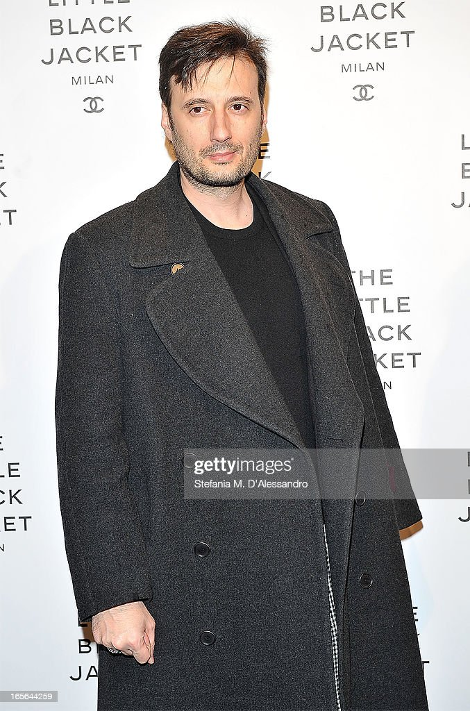 Matteo Ceccarini attends Chanel The Little Black Jacket - Karl Lagerfeld Photography Exhibition Dinner Party on April 4, 2013 in Milan, Italy.