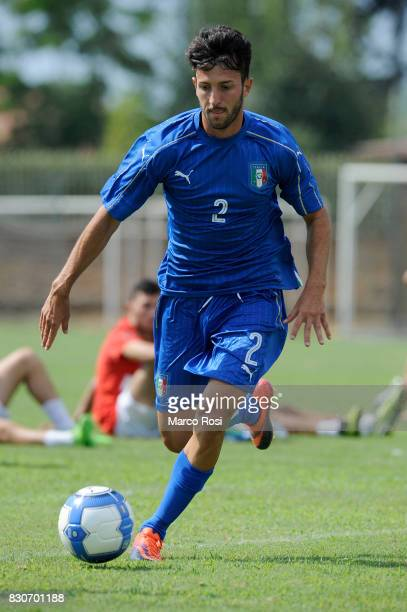 Matteo Cio of Italy during the frienldy match between Italy University and ASD Audace on August 12 2017 in Rome Italy
