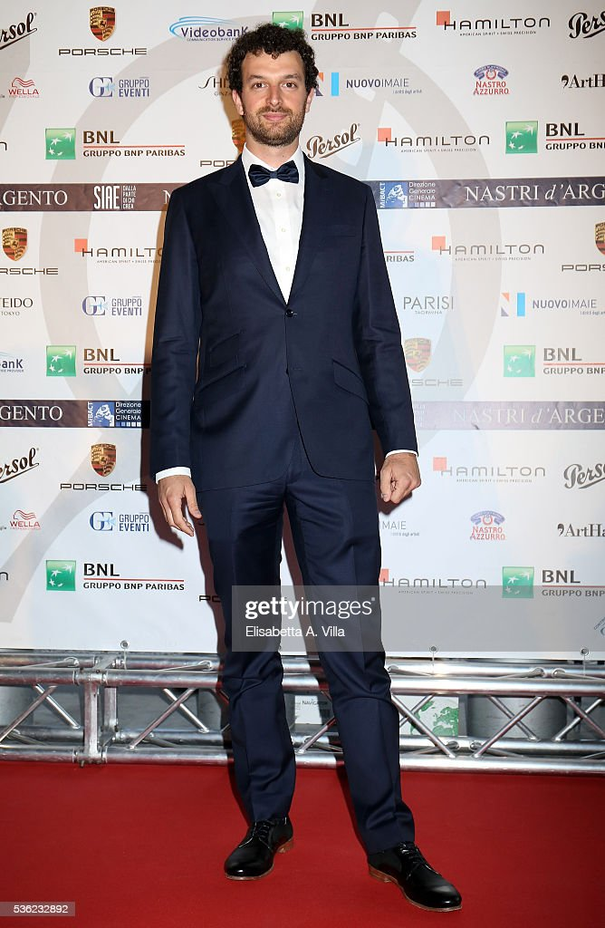 Matteo Cocco attends Nastri D'Argento 2016 Award Nominations at Maxxi on May 31, 2016 in Rome, Italy.