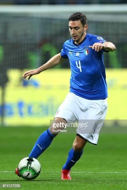 Matteo Darmian of Italy at San Siro Stadium in Milan Italy on November 13 2017