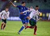 Matteo Darmian of Italy during the Euro 2016 Qualifier match between Bulgaria and Italy at Vasil Levski National Stadium on March 28 2015 in Sofia...