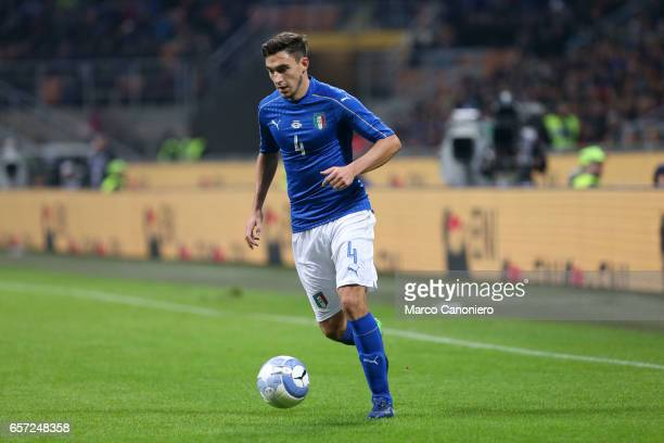 Matteo Darmian of Italy during the International friendly match between Italy and Germany at Giuseppe Meazza Stadium