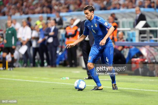 Matteo Darmian of Italy in action during the FIFA 2018 World Cup Qualifier match between Italy and Israel Italy wins 10 over Israel