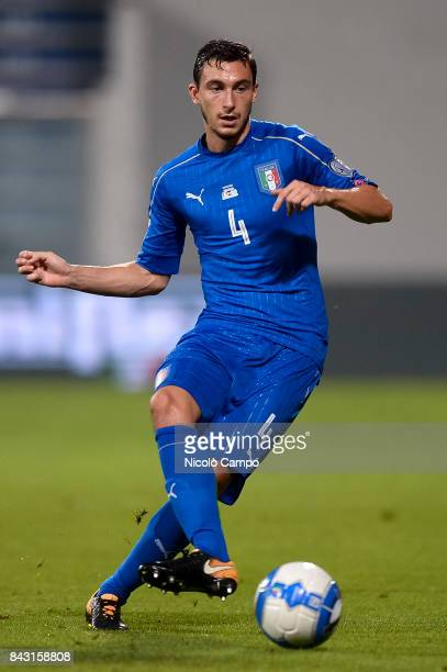 Matteo Darmian of Italy in action during the FIFA 2018 World Cup Qualifier between Italy and Israel Italy wins 10 over Israel