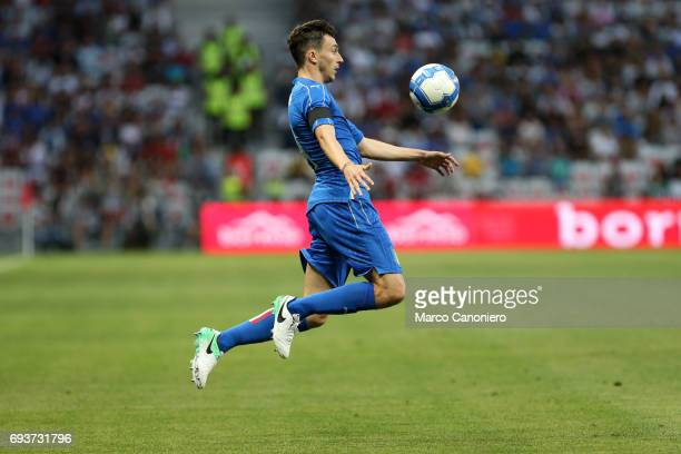 Matteo Darmian of Italy in action during the international friendly match between Italy and Uruguay Italy wins 30 over Uruguay
