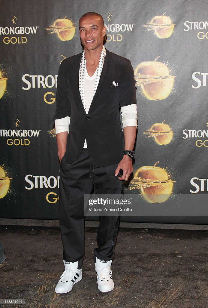 Matteo Ferrari attends 'The Gold Experience' red carpet on May 6 2011 in Milan Italy