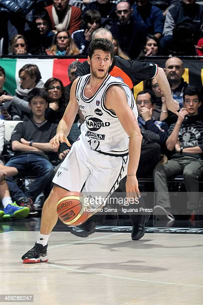 Matteo Imbro of Granarolo in action during the LegaBasket Serie A1 match between Granarolo Bologna and Sidigas Avellino at Unipol Arena on December...
