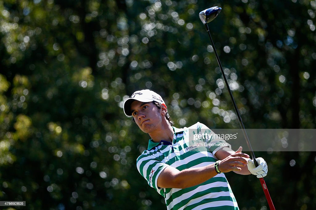 <a gi-track='captionPersonalityLinkClicked' href=/galleries/search?phrase=Matteo+Manassero&family=editorial&specificpeople=4479535 ng-click='$event.stopPropagation()'>Matteo Manassero</a> of Italy hits a tee shot on the 7th hole during the second round of the Valspar Championship at Innisbrook Resort and Golf Club on March 14, 2014 in Palm Harbor, Florida.