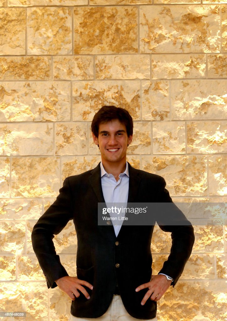 <a gi-track='captionPersonalityLinkClicked' href=/galleries/search?phrase=Matteo+Manassero&family=editorial&specificpeople=4479535 ng-click='$event.stopPropagation()'>Matteo Manassero</a> of Italy poses for a portrait during the 2014 HSBC Golf Business Forum at The Westin Hotel at Abu Dhabi Golf Club on April 29, 2014 in Abu Dhabi, United Arab Emirates.