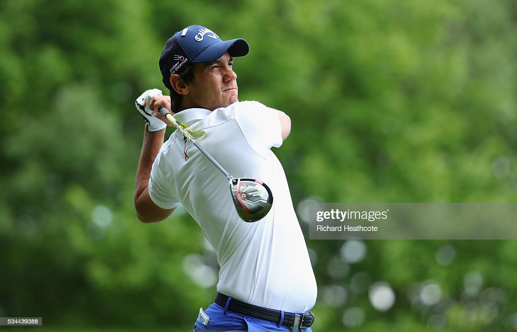 <a gi-track='captionPersonalityLinkClicked' href=/galleries/search?phrase=Matteo+Manassero&family=editorial&specificpeople=4479535 ng-click='$event.stopPropagation()'>Matteo Manassero</a> of Italy tees off during day one of the BMW PGA Championship at Wentworth on May 26, 2016 in Virginia Water, England.