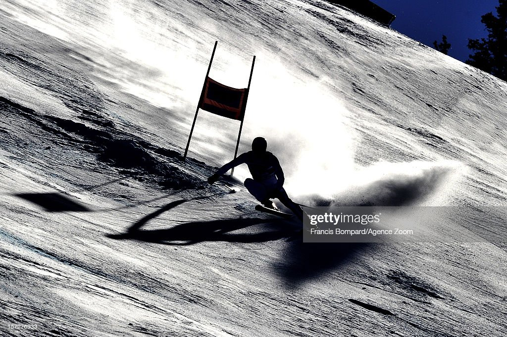 Matteo Marsaglia of Italy competes during the Audi FIS Alpine Ski World Cup Men's Super G on December 1, 2012 in Beaver Creek, Colorado.