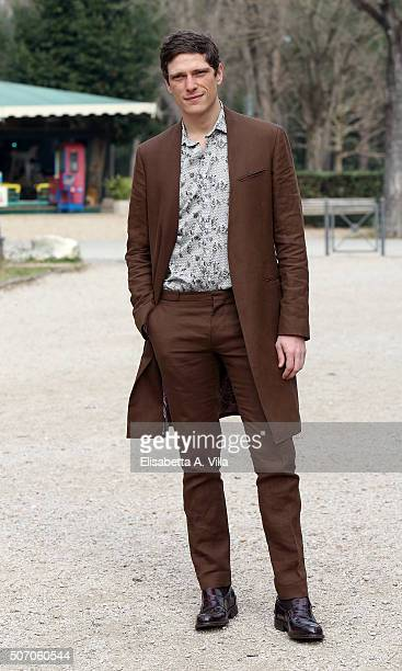 Matteo Martari attends a photocall for 'Luisa Spagnoli' Tv Series on January 27 2016 in Rome Italy