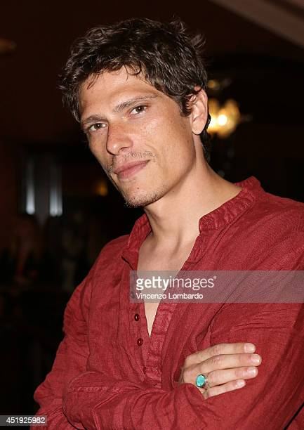 Matteo Martari attends the Under The Series Web Series Premiere on July 9 2014 in Milan Italy