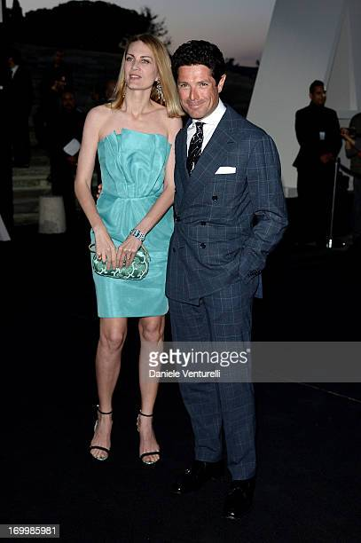 Matteo Marzotto and Isabella Borromeo attend 'One Night Only' Roma on June 5 2013 in Rome Italy