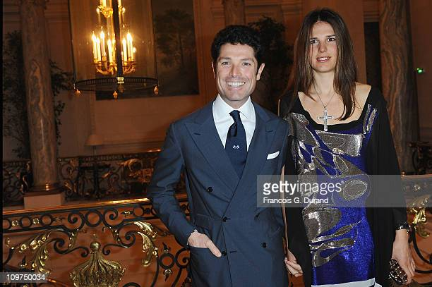 Matteo Marzotto and Veronica Sgaravatti attend the Joyce Hong Kong 40th Anniversary Intimate Dinner Hosted By Keith Of Joyce Angelica Cheung at...