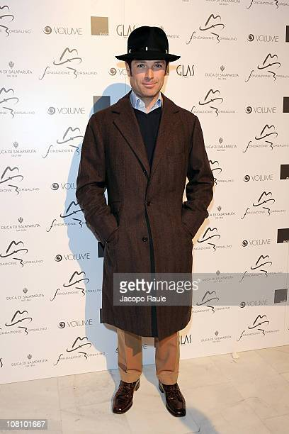 Matteo Marzotto attends 'Il Cinema Con Il Cappello' during Milan Fashion Week Menswear A/W 2011 on January 17 2011 in Milan Italy