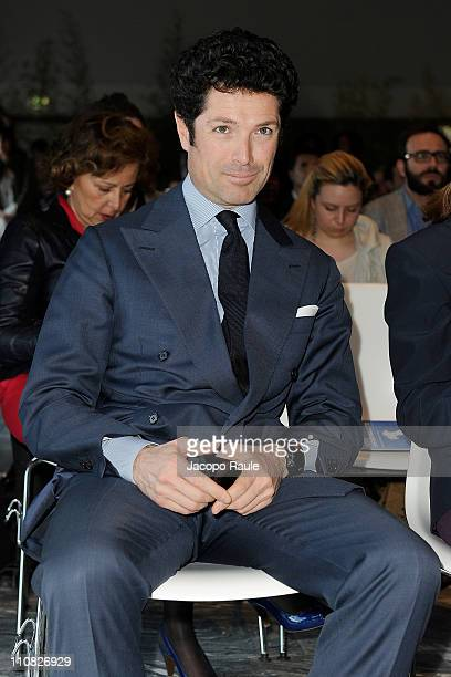 Matteo Marzotto attends Premio Gaetano Marzotto on March 24 2011 in Milan Italy The Gaetano Marzotto prize is open to new entrepreneurs who are able...