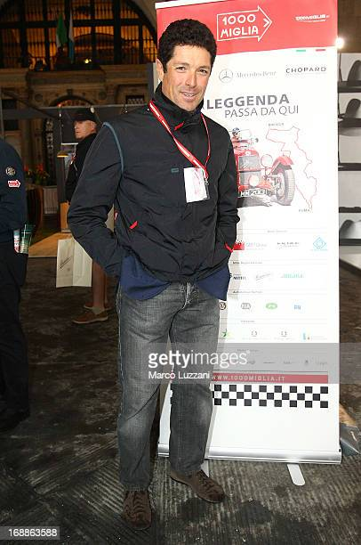 Matteo Marzotto attends the 2013 Mille Miglia on May 16 2013 in Brescia Italy