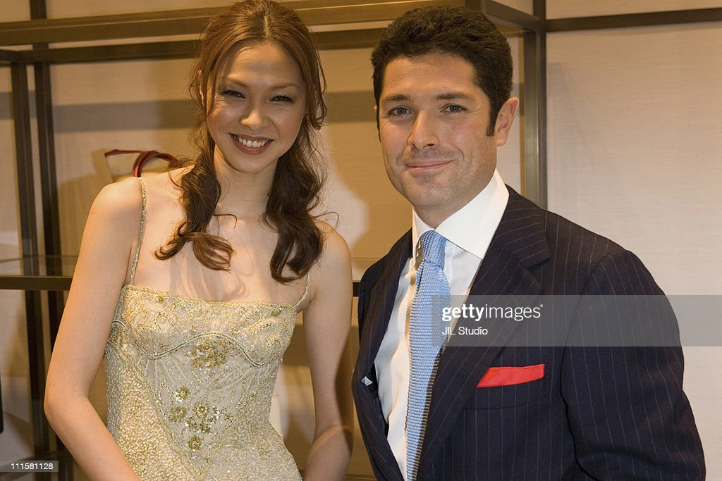 Matteo Marzotto, COO of Valentino (right) during Opening of Valentino Ginza Boutique in Tokyo - December 1, 2005 at Italian Institute of Culture in Tokyo, Japan.