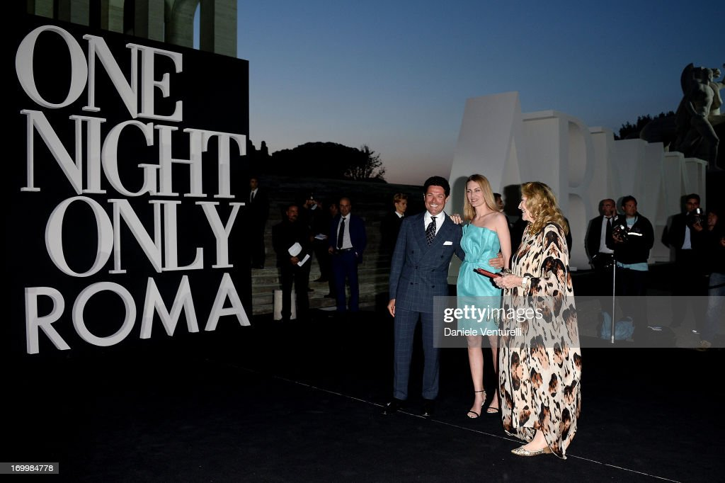 Matteo Marzotto, Marta Marzotto and Isabella Borromeo attend 'One Night Only' Roma on June 5, 2013 in Rome, Italy.