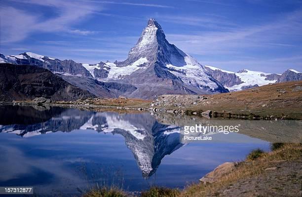Matterhorn und Stellisee