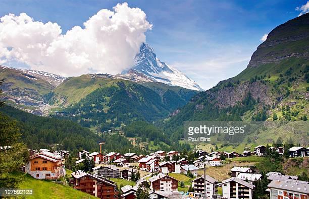 Matterhorn from Zermatt Town