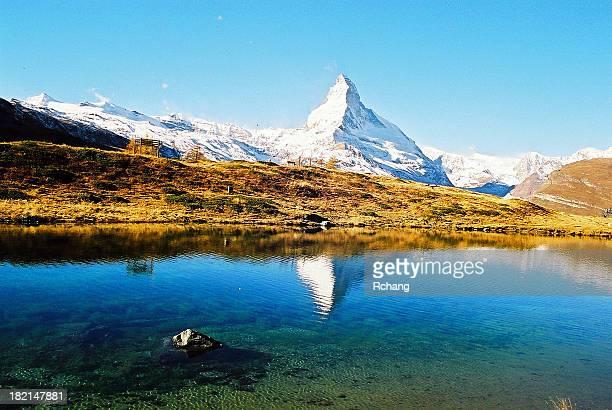 Matterhorn im See