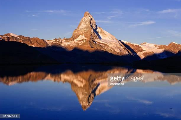 Mont Cervin réflexion