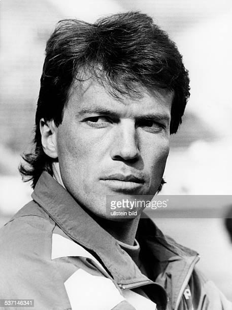 Matthaeus Lothar * Fussballspieler D Spieler der Nationalelf von 19802000 Weltmeister 1990 Portrait Maerz 1993