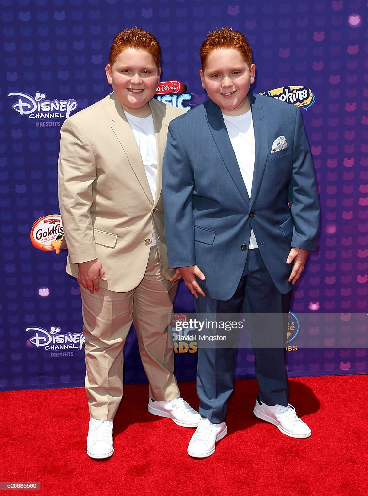 Matthew and Ben Royer attend the 2016 Radio Disney Music Awards at Microsoft Theater on April 30, 2016 in Los Angeles, California.