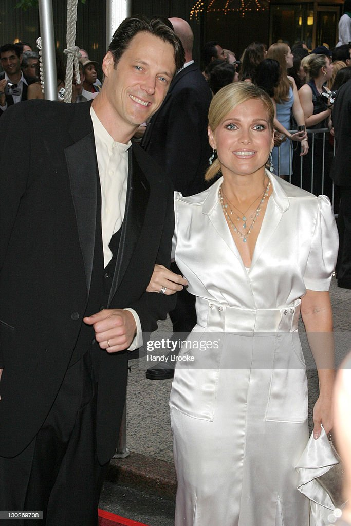 Matthew Ashford and Melissa Reeves during 31st Annual Daytime Emmy Awards Arrivals at Radio City Music Hall in New York City New York United States