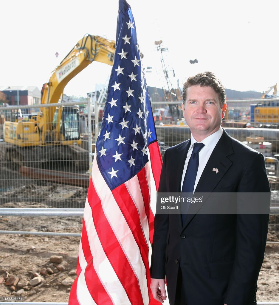 Matthew Barzun, the U.S. Ambassador to the United Kingdom, posees for a portrait following the Groundbreaking Ceremony on the construction site for the new United States embassy in Wandsworth on November 13, 2013 in London, England. Construction of the new, cube-shaped embassy on the 4.9 acres site, less than a mile from the Houses of Parliament, is expected to be completed in 2017 and will see the US embassy relocate from its current address in Mayfair.