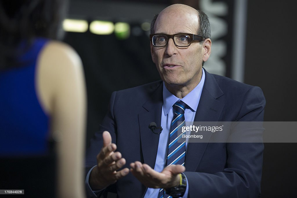 Matthew Blank, chairman and chief executive officer of Showtime Networks Inc., speaks during a Bloomberg Television interview at the National Cable and Telecommunications Association (NCTA) Cable Show in Washington, D.C., U.S., on Tuesday, June 11, 2013. The Cable Show is expected to bring in more than 10,000 attendees with 286 companies on the exhibit floor. Photographer: Andrew Harrer/Bloomberg via Getty Images