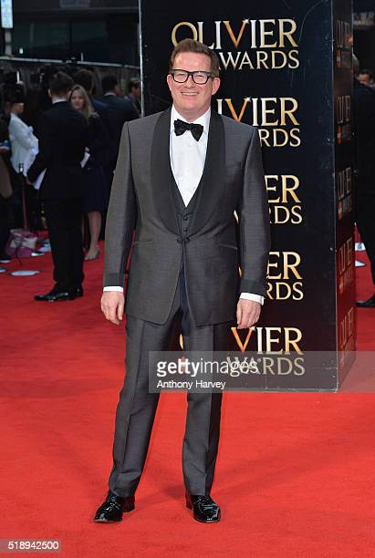 Matthew Bourne attends The Olivier Awards with Mastercard at The Royal Opera House on April 3 2016 in London England