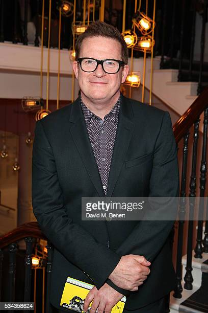 Matthew Bourne attends the press night after party for 'Jekyll Hyde' at The Old Vic Theatre on May 25 2016 in London England