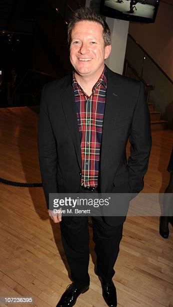 Matthew Bourne attends the press night of 'Cinderella' at Sadler's Wells on December 1 2010 in London England