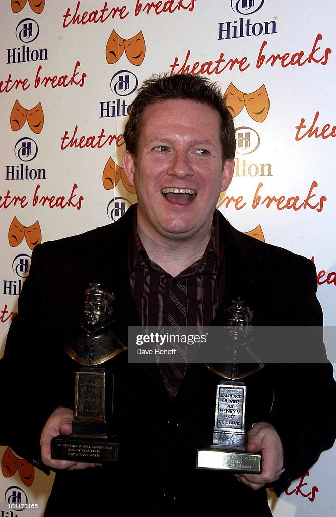 Matthew Bourne (best Theatre Choreographer/best Entertainment), The Laurence Olivier Theatre Awards 2003 Held At The Lyceum Theatre In London