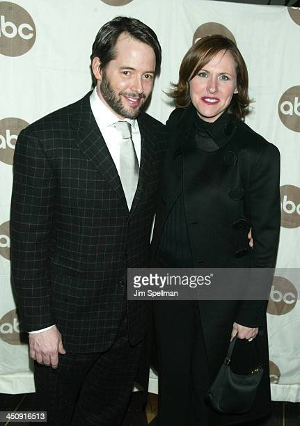 Matthew Broderick and Molly Shannon during World Premiere of the ABC Original Made for Television Motion Picture Meredith Willson's The Music Man at...