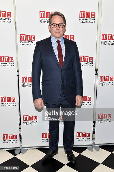 Matthew Broderick attends the 2016 Manhattan Theatre Club's Fall Benefit at 583 Park Avenue on November 21 2016 in New York City