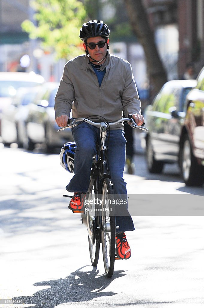 Matthew Broderick is seen in SoHo on May 2, 2013 in New York City.