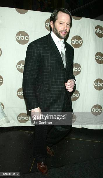 Matthew Broderick wearing Ralph Lauren during World Premiere of the ABC Original Made for Television Motion Picture Meredith Willson's The Music Man...