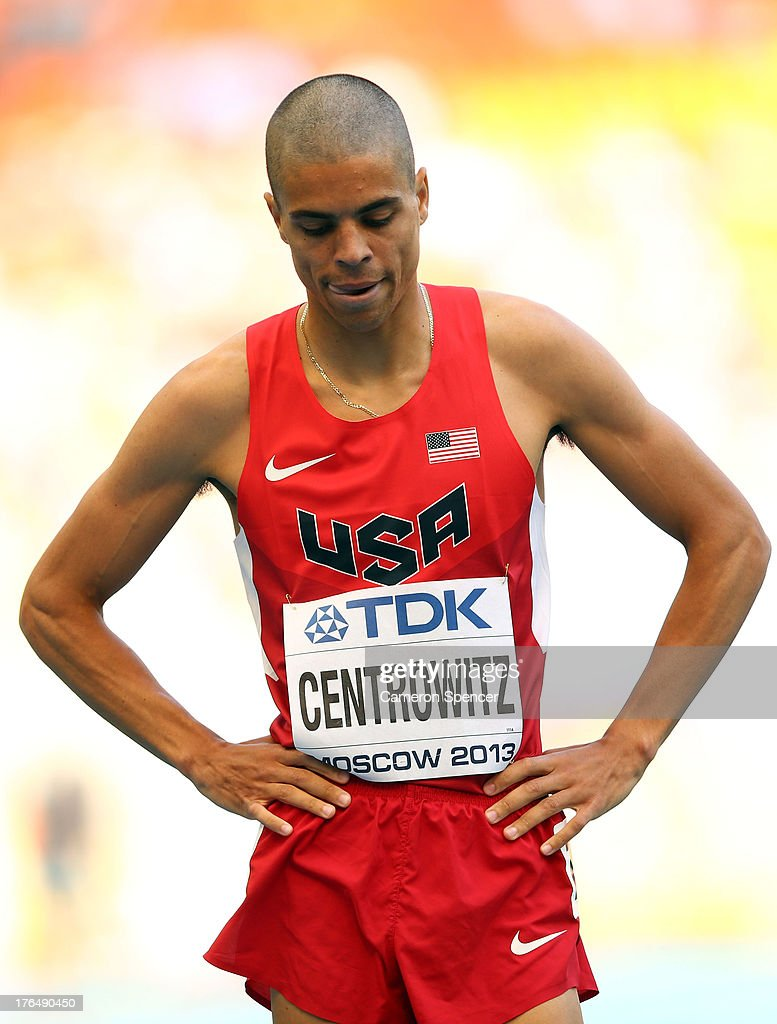 <a gi-track='captionPersonalityLinkClicked' href=/galleries/search?phrase=Matthew+Centrowitz&family=editorial&specificpeople=7293929 ng-click='$event.stopPropagation()'>Matthew Centrowitz</a> of the United States competes in the Men's 1500 metres heats during Day Five of the 14th IAAF World Athletics Championships Moscow 2013 at Luzhniki Stadium on August 14, 2013 in Moscow, Russia.