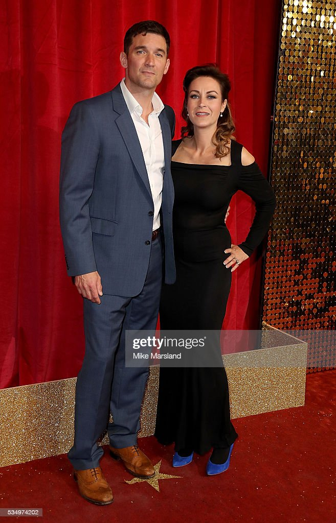 Matthew Chambers and Elisabeth Dermot Walsh attend the British Soap Awards 2016 at Hackney Empire on May 28, 2016 in London, England.