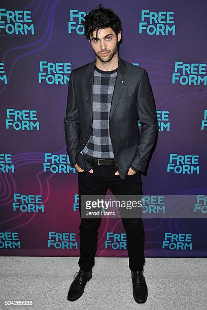Matthew Daddario arrives at the Disney/ABC 2016 Winter TCA Tour at the Langham Hotel on January 9 2016 in Pasadena California
