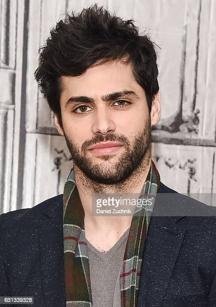 Matthew Daddario attends AOL Build to discuss the upcoming season of 'Shadowhunters' at AOL HQ on January 9 2017 in New York City